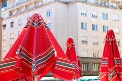 Mercado de Dolac, Zagreb fotos de archivo