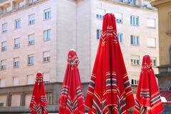 Mercado de Dolac, Zagreb fotografía de archivo libre de regalías