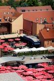 Mercado de Dolac, Zagreb fotografía de archivo