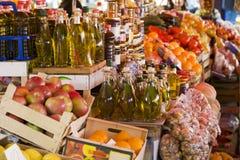 Mercado de domingo imagem de stock