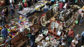Mercado de Encants Vells en Barcelona