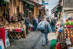 Mercado de Estambul en Turquía Imagen de archivo libre de regalías