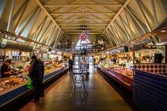 Mercado de FeskekÃ'rka dentro de la visión Goteburgo Suecia Imágenes de archivo libres de regalías