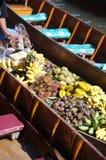 Mercado de flutuação 12 foto de stock