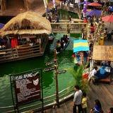 Mercado de flutuação Fotografia de Stock