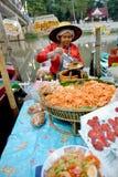 Mercado de flutuação de Klonghae Imagem de Stock