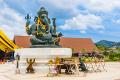 Mercado de flutuação de Phuket Fotos de Stock