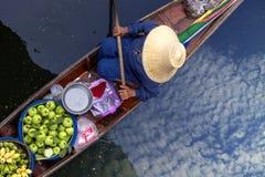 Mercado de flutuação de Thaka Imagem de Stock