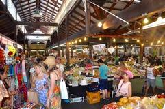 Mercado de Fremantle: Economía de trueque Fotos de archivo