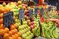 Mercado de fruta Foto de Stock