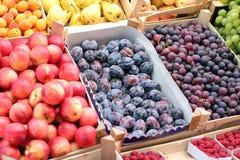 Mercado de fruta Foto de Stock Royalty Free