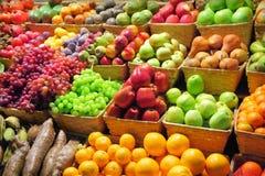 Mercado de fruta fotografia de stock