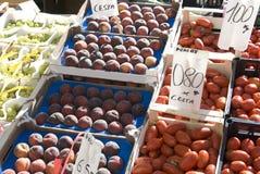Mercado de fruta Imagens de Stock Royalty Free