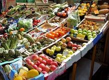 Mercado de frutas Fotografia de Stock Royalty Free