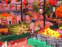 Mercado de frutas e legumes. Fotografia de Stock Royalty Free