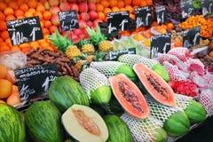 Mercado de fruto foto de stock royalty free