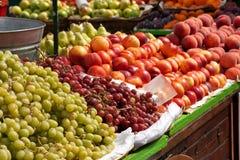 Mercado de fruto Imagens de Stock