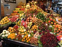Mercado de fruto imagem de stock