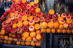 Mercado de fruto de Istambul fotografia de stock