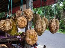 Mercado de fruto do ar livre da vila em Bali, Indonésia imagens de stock royalty free