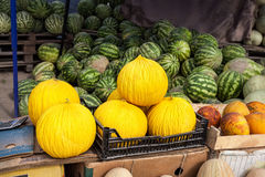 Mercado de fruto em Ásia Fotos de Stock