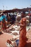 Mercado de Ghana Fotografia de Stock Royalty Free