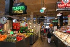 Mercado de Grand Central, LA Imagem de Stock