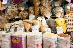 Mercado de Hong Kong Fotos de Stock