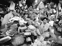 Mercado de IMA em imphal manipur india fotografia de stock royalty free