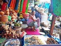 Mercado de IMA em imphal manipur india foto de stock