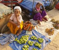 Mercado de IMA em imphal manipur india Imagens de Stock