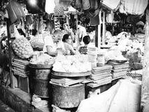 Mercado de IMA en imphal Manipur la India Fotografía de archivo libre de regalías