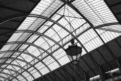 Mercado de interior en Eslovaquia Fotos de archivo libres de regalías