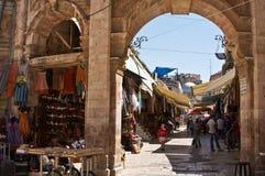 Mercado de Jerusalem Foto de Stock Royalty Free