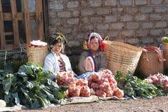 Mercado de Kalaw Foto de Stock