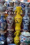 Mercado de la antigüedad de Panjiayuan en Pekín China Fotos de archivo libres de regalías