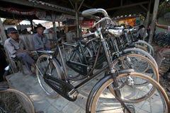 Mercado de la bici Imágenes de archivo libres de regalías