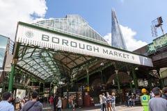 Mercado de la ciudad, cerca del puente de Londres Imágenes de archivo libres de regalías