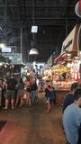 Mercado de la ciudad de Barcelona Foto de archivo libre de regalías