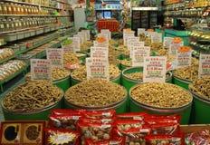 Mercado de la ciudad de China imagen de archivo libre de regalías