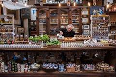 Mercado de la ciudad en Londres fotografía de archivo libre de regalías