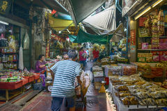 Mercado de la comida Fotos de archivo
