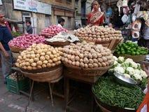 Mercado de la comida de Bombay Fotografía de archivo libre de regalías