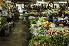 Mercado de la comida fresca Imagenes de archivo