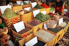 Mercado de la especia Fotografía de archivo