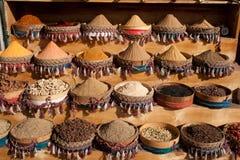 Mercado de la especia Foto de archivo libre de regalías
