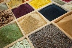 Mercado de la especia Imagen de archivo libre de regalías