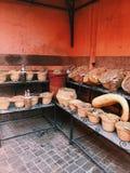 MERCADO DE LA ESPECIA EN MARRAKESH, MORROCO fotografía de archivo libre de regalías
