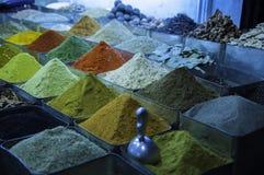 Mercado de la especia en Siria fotografía de archivo libre de regalías