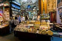 Mercado de la especia - Estambul fotos de archivo libres de regalías